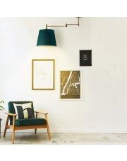 Designerska lampa sufitowa TAMPA VELUR