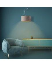 Nowoczesna lampa sufitowa HAJFA VELUR fi - 30 cm