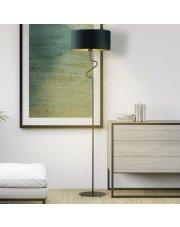 Designerska lampa stojąca pokojowa MORONI GOLD