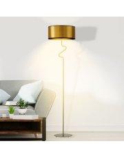 Miedziana lampa stojąca MORONI MIRROR