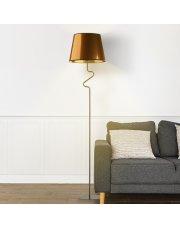 Geometryczna lampa podłogowa z włącznikiem nożnym FOGO MIRROR