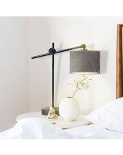 Lampka z welurowym abażurem MALI VELUR