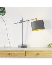 Nowoczesna lampka z regulacją wysokości MALI GOLD
