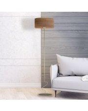 Chromowana lampa stojąca JERSEY ECO
