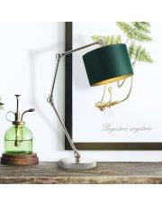 Designerska lampka na nocny stolik ASMARA GOLD
