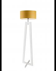 Lampa drewniana stojąca BALI