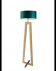 Podłogowa lampa drewniana BALI