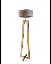Stojąca lampa drewniana BALI