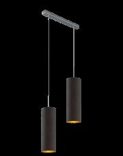 Dwupłomienna lampa wisząca MADERA