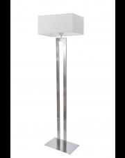 Srebrna lampa podłogowa TORONTO
