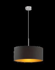 Lampa wisząca SINTRA fi - 40 cm ze złotym wnętrzem