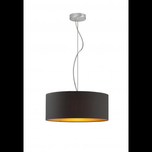Lampa HAJFA fi 40 cm złote wnętrze , Lampy wiszące