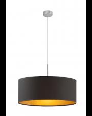 Nowoczesna lampa SINTRA fi - 60 cm ze złotym wnętrzem