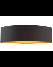 Plafon MEDINA fi - 80 cm czarny ze złotym wnętrzem