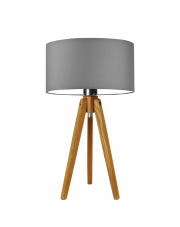 Lampka drewniana nocna SABA