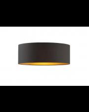 Plafon DUBAJ czarny ze złotym wnętrzem fi - 40 cm