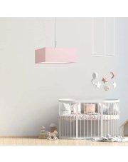 Żyrandol dziecięcy BOGOTA - kolor różowy