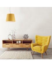 Lampa wisząca TUNIS - kolor musztardowy