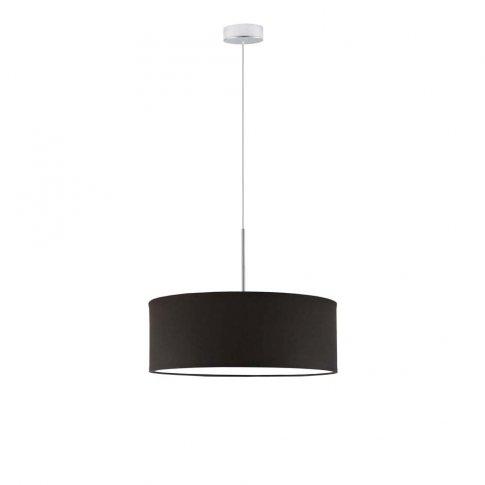 Designerska lampa wisząca SINTRA fi 50 cm kolor brązowy