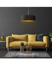 Żyrandol w stylu glamour SINTRA GOLD fi - 50 cm