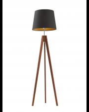 Drewniana lampa stojąca ARUBA