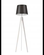 Drewniana lampa podłogowa ARUBA