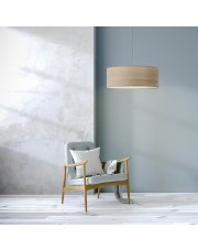 Żyrandol pokojowy SINTRA ECO fi - 50 cm - kolor dąb bielony