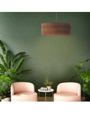 Żyrandol do pokoju SINTRA ECO fi - 50 cm - kolor kasztanowy