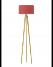 Drewniana lampa stojąca MIAMI
