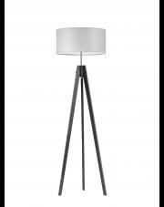 Drewniana lampa stojąca HAITI