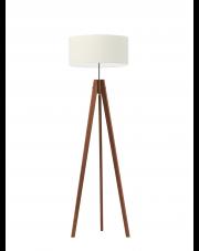 Drewniana lampa podłogowa HAITI