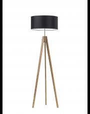 Drewniana lampa salonowa HAITI