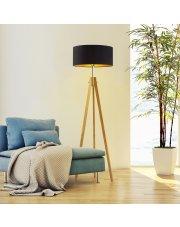 Lampa stojąca do sypialni HAITI GOLD