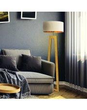Nowoczesna lampa podłogowa BALI GOLD