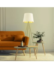 Nowoczesna lampa podłogowa PANAMA GOLD