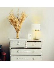 Lampka z nowoczesnym abażurem AMALFI GOLD