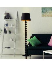 Nowoczesna lampa do salonu z włącznikiem nożnym BANGKOK GOLD