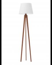 Drewniana lampa stojąca CURACAO