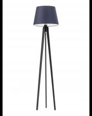 Drewniana lampa podłogowa CURACAO