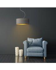 Oświetlenie pokojowe wiszące HAJFA GOLD fi - 30 cm