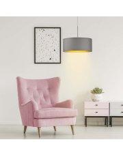 Lampa wisząca do sypialni SINTRA GOLD fi - 30 cm