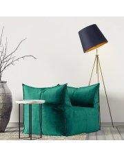 Lampa podłogowa do sypialni OSLO GOLD