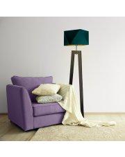 Lampa stojąca do salonu BAKU GOLD