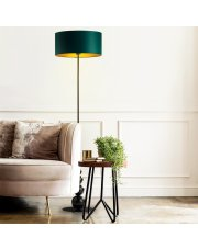 Lampa podłogowa do pokoju ROMA GOLD