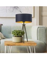 Designerska lampka nocna do sypialni ALTA GOLD