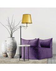 Nowoczesna lampa podłogowa do sypialni BATA MIRROR