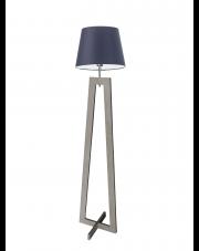 Lampa stojąca z drewna KOS