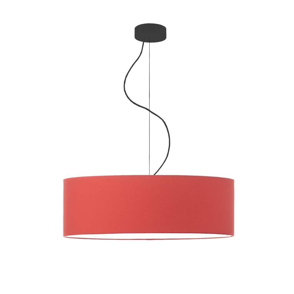 Rippvalgusti kõrguse reguleerimisega HAJFA fi - 60 cm - punane värv