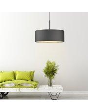 Lampa wisząca do pokoju SINTRA fi - 50 cm - kolor grafitowy