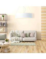 Lampa wisząca PORTO fi - 80 cm - kolor biały
